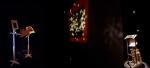 mécanisme de réanimation no 5, installation cinétique et sonore de manon labrecque,mécanisme,ciel,fragmentation,lanterne magique,étoiles