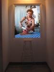 fixation,installation vidéo de manon labrecque, peinture,fixité,tableau vivant,nature morte