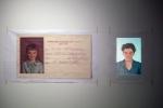 l'imitée,installation vidéo de manon labrecque,sourire,enfance,imitation