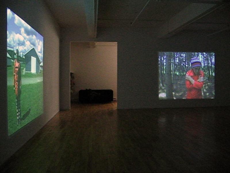 mécaniques affectives,installation vidéo de manon labrecque,mécanismes,corps,photographique,mouvements,machines